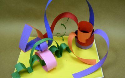 Project – Paper sculpture